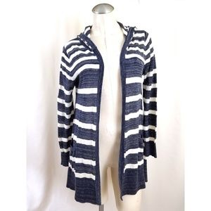 89th & Madison Size S Hooded Cardigan